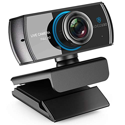 PC Webcam, 1080P Full HD Webcam, Live-Streaming-Webcam Mit Mikrofon, USB-Desktop & Laptop Webcam, Widescreen HD-Video Videoanrufe Und Aufnahme-Kamera