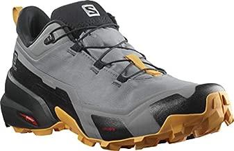 Salomon Men's Cross Hike GTX, Quiet Shade/Black/Butterscotch, 10