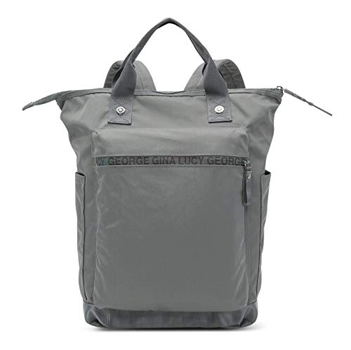 George Gina & Lucy Baby Bags Minor Monokissed Grey
