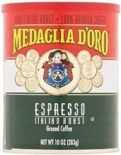 Medaglia D Oro, Caffe Espresso Can Ground, 10-Ounce (6 Pack)