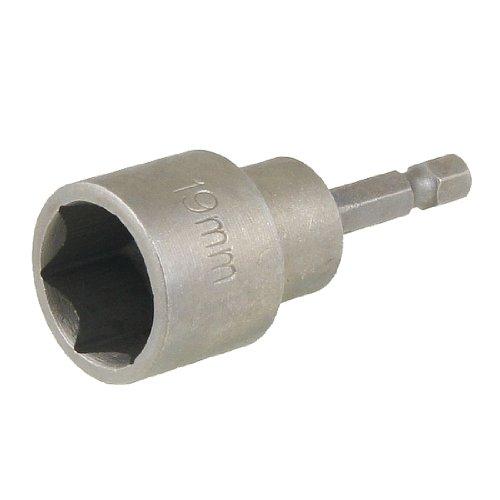 Sourcingmap Innensechskant-Nuss für Schraubendreher, magnetisch, Grau, a12082000ux0098 de
