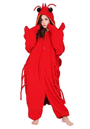 Lobster Kigurumi - Adults Kigurumi, Adults, Red