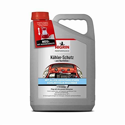 Nigrin 20547 Performance Kühler-Schutz Universal, Kühler-Frostschutz, 5 L Kanister mit Ausgieß-Hilfe