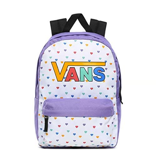Vans Mädchen Girls Realm Backpack Rucksack, Dahlie, Violett, OS