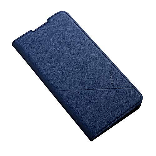 Redmi Note 9T ケース/カバー 手帳型 レザー スタンド機能 カード収納 上質なPUレザーケース シャオミ リドミーノート9T レザーケース おしゃれ アンドロイド スマフォ スマホ スマートフォン ケース/カバー(ロイヤルブルー)