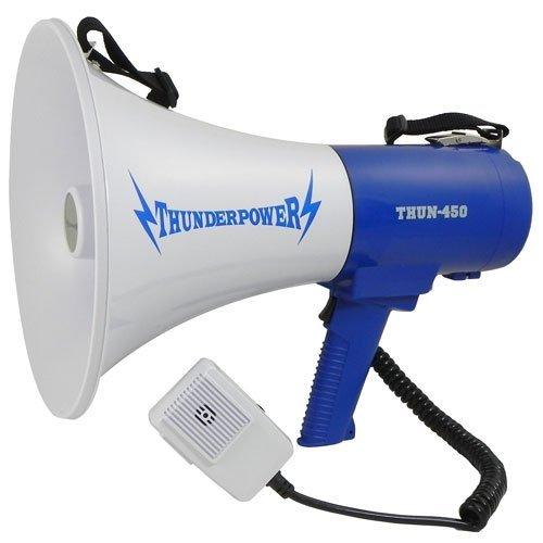 ThunderPower Extra Loud Megaphone 450-35 Watts of Power