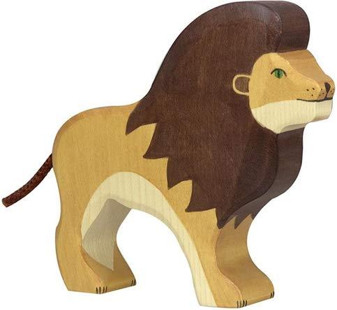 Holzfigur Löwe HOLZTIGER