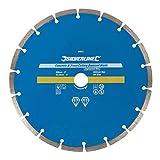 Silverline 589673 Disco de corte diamantado para piedra y hormigón 230 x 22,2 mm