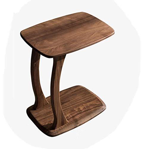 ZJN-JN Mesa Mesa de Retro Creatividad End Mesas Mesas de Centro Moderna Decoración de Muebles Lado de la Mesa for Sala de Estar Balcón Inicio Sofá Lado del Extremo de la Tabla (Color: Marrón, Tamaño: