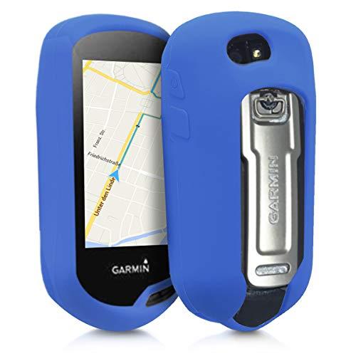 kwmobile Funda Compatible con Garmin Oregon 700 / 750t / 600/650 - Carcasa de Silicona para navegador GPS - Cover Azul