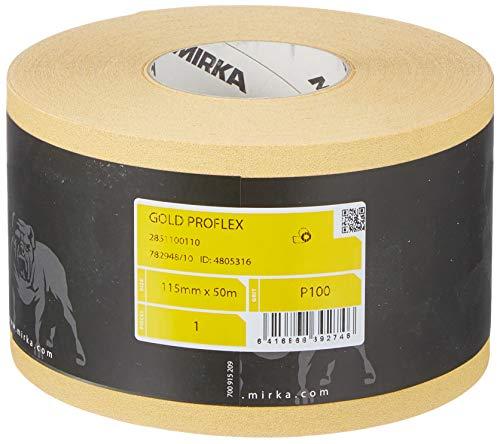 Mirka 2851100110 Gold Proflex Rolle P100, 115 mm x 50 m