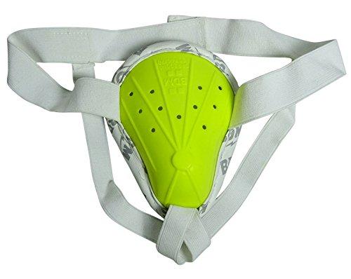 BDM Protección abdominal de críquet verde de grado Admiral, protección gruesa ✅
