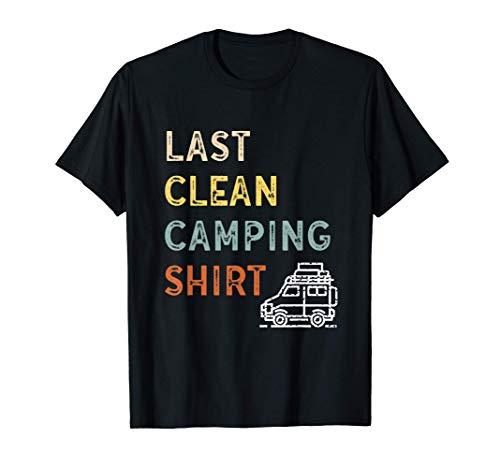 Wohnmobil Van Wohnmobil Camping Wohnwagen Hobby Campingplatz T-Shirt