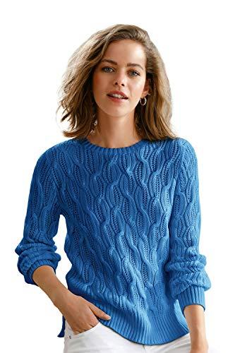 Looxent Damen Pullover aus 100% Supima®-Baumwolle