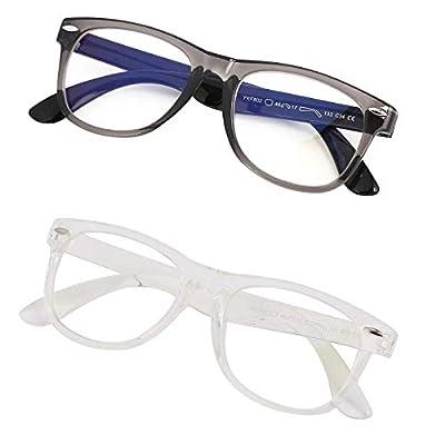Kids Blue Light Glasses Unbreakable Frame for G...