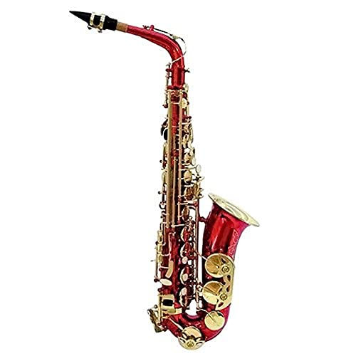 Dimavery SP-30 para saxofón Alto Eb - rojo