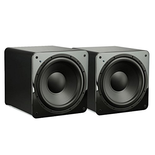 New SVS SB-1000-300 Watt - 12 Powered Subwoofer (Piano Gloss Dual Subs)