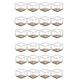 Mogokoyo 24 x Stuhlbeinkappen Silikon Stuhlbein Fußboden Schutz Möbel Tischabdeckung Furniture...