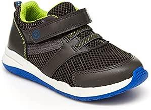 Stride Rite Boy's Max Sneaker, Black, 5 Toddler