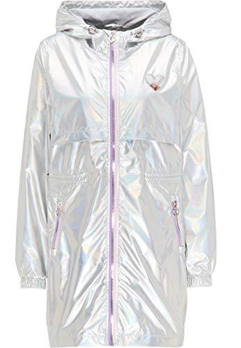 myMo Holographic Parka Damen 12305781 Silber holografisch, L