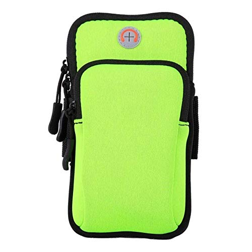 Bolsa de deporte Bolsa de brazo para teléfono móvil Bolsa de brazo al aire libre Maratón Key Bag Sports Female Arm Bag Waterproof Night Running Bag Bolsos deportivos (Color: A)