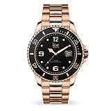 ICE-WATCH Ice Steel Rose-Gold - Reloj Rosa Oro para Hombre con Correa de Metal, 016763 (Medium)