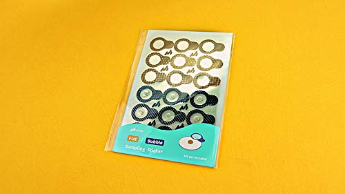 uHandy Sample Stickers Series (Flat & Bubble Sample Stickers)