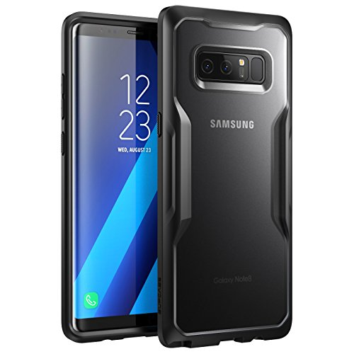 SUPCASE Unicorn Beetle Series Case Designed for Galaxy Note 8, Premium Hybrid Protective Clear Case for Galaxy Note 8 2017 Release (Frost/Black)