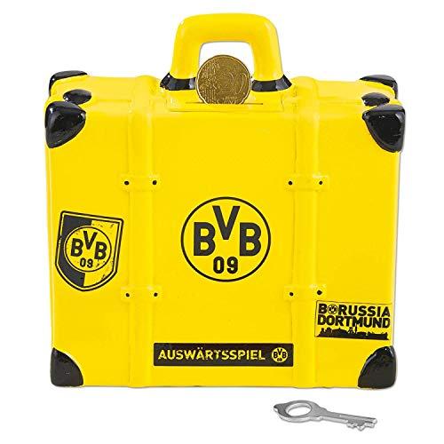 Borussia Dortmund Soundspardose Koffer, Spardose mit Sound, Sparbüchse BVB 09 (L)