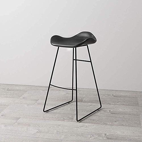 BarStools - Taburete giratorio de altura para asiento, asiento de cocina, taburete de bar, taburete moderno, moderno, minimalista, 46 x 46 x 65 cm