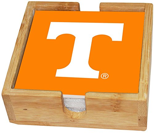 Memory Company NCAA University of Tennessee Col-TN-2403Square Untersetzer Set, Knoxville, Einheitsgröße, Mehrfarbig