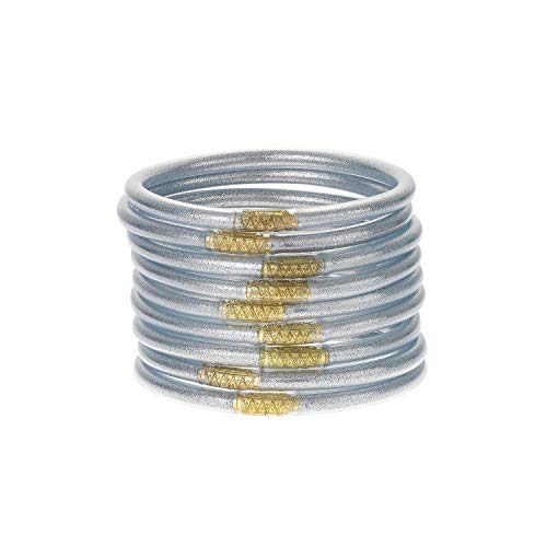 Silver All Weather Bangles (AWB) - Serenity Prayer