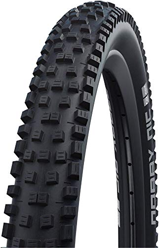Schwalbe Nobby Nic Neumáticos para Bicicleta, Unisex Adulto, Negro, 26 x 2,25