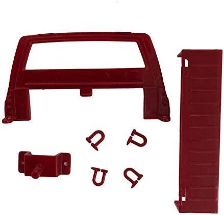 XuBa Kit de Voiture avec Moteur à servo pour Wpl C14 1/16 4 Go Red