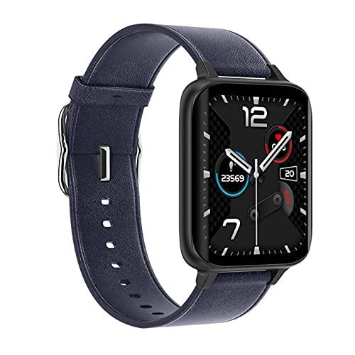 Reloj Inteligente ECG para Hombre de 1,78 Pulgadas con Pantalla táctil Completa, Reproductor de música para Mujer, Reloj Inteligente para rastreador de Ejercicios para Android iOS