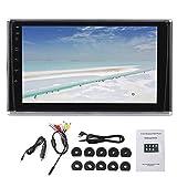 Monitor de reposacabezas de Coche-Pantalla LED HD de 9 Pulgadas Monitor de reposacabezas de Coche Bluetooth MP5 Player Multimedia Audio Video Radio Reproducción Universal
