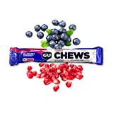 GU Energy Chews Double-Serving Sleeve, 18-Count, Blueberry Pomegranate