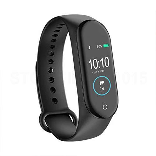Itness Tracker HR Smartwatch Bluetooth Headset mit Herzfrequenzmesser, Blutdruckmessgerät Smart Talkband Kalorienzähler Schrittzähler Uhr für Männer & Frauen Android und iPhone  Schwarz