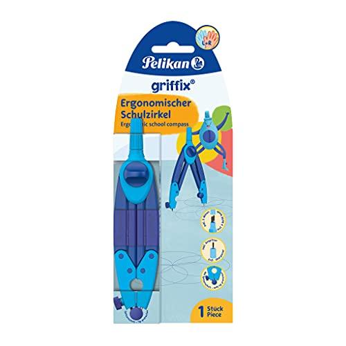 Pelikan 700818 Schulzirkel griffix, blau, 1 Stück