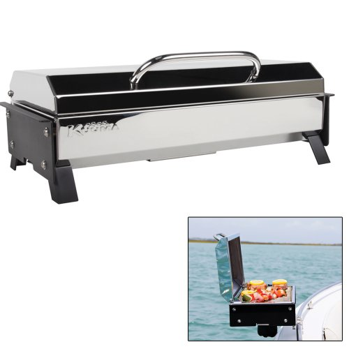 Kuuma Profile 150 Propane Gas Grill with Regulator Cooking Outdoor Parts Replacement