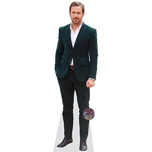 Celebrity Cutouts Ryan Gosling (Green Jacket) Pappaufsteller Mini