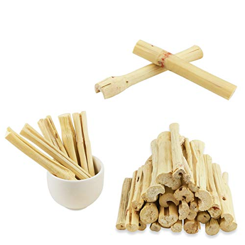 Oruuum 500g Pet Molar Sweet Bamboo Snacks, Pet Chewing Toys Molar Sticks for Rabbits & Chinchillas & Guinea Pigs & Chinchillas & Hamsters & Squirrels and Other Small Animals.