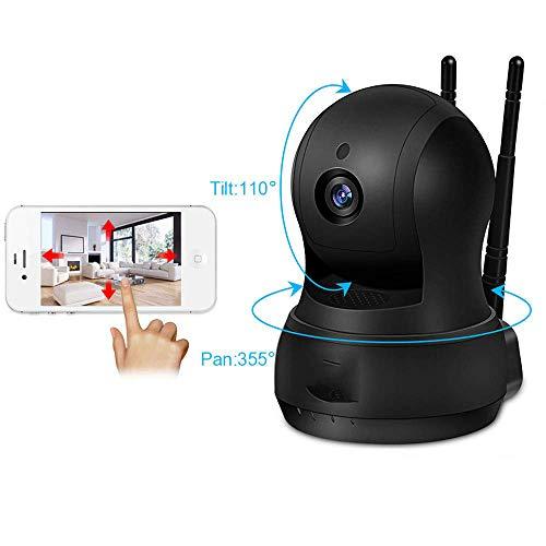 OWEM Drahtlose Überwachungskamera, 720P WiFi IP-Überwachungskamera Für Den Innenbereich, Haussicherungssystem, Bewegungserkennung, Zweiwege-Audio, Infrarot-Nachtsicht