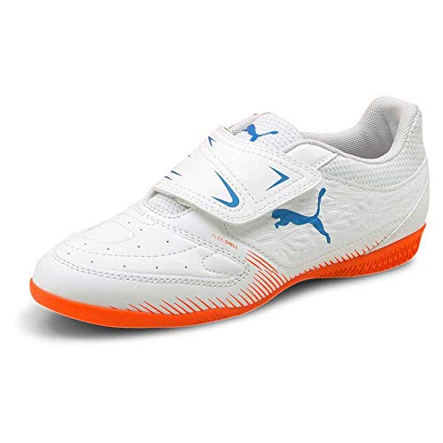 Puma Truco V Jr, Zapatillas de fútbol, White, 28 EU