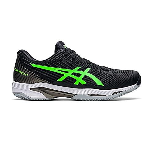 ASICS Solution Speed FF 2 Clay, Zapatillas de Running Hombre, Black Green Gecko, 43.5 EU