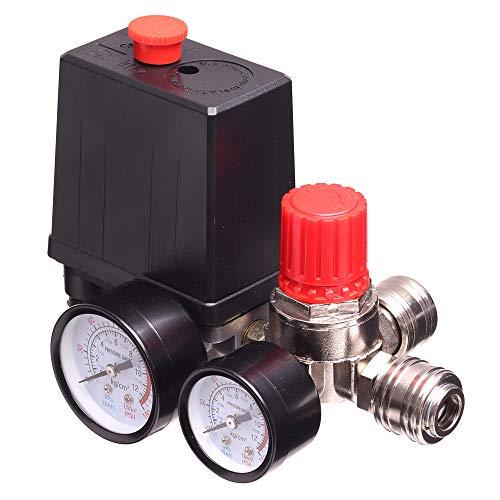 Druckregler Luftkompressor Schalter 1/4...