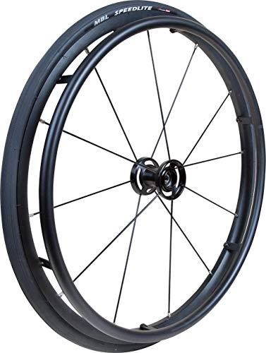 Rollstuhlrad FabaCare Storm, Antriebsrad für Rollstuhl, Ersatzrad für Gelände, bis 75 kg, Kugellager 12 mm
