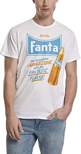 MERCHCODE Kayden Camiseta, Blanco (White 00220), XX-Large para Hombre