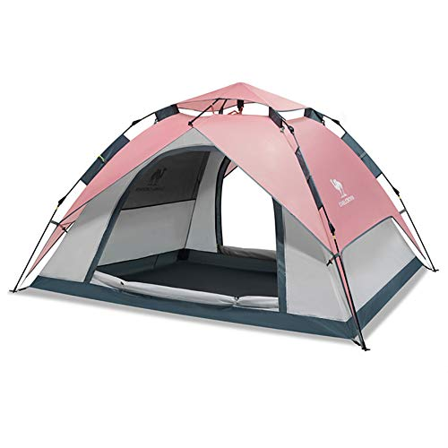 Ziyi Blow Up Tent,camping Tent,Outdoor Elastic Pressure Automatic Tent,transparent Gauze,double Doors And Four Windows Ventilation Design,anti-mosquito Gauze