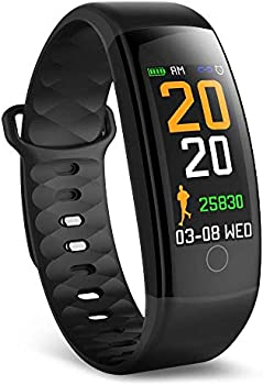 Teckepic Waterproof Fitness Activity Tracker with Heart Rate Monitor
